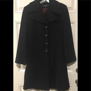 Jones New York Wool/Cashmere Coat Sz 6